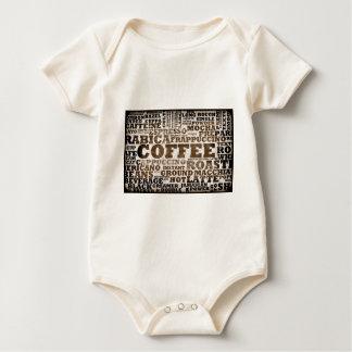 Kaffee Baby Strampler