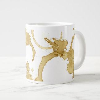 Kaffee befleckt große Kaffeetasse Jumbo-Tasse