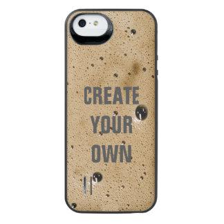 Kaffee-Blasen schaffen Ihre Selbst iPhone SE/5/5s Batterie Hülle