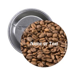 Kaffee Runder Button 5,1 Cm