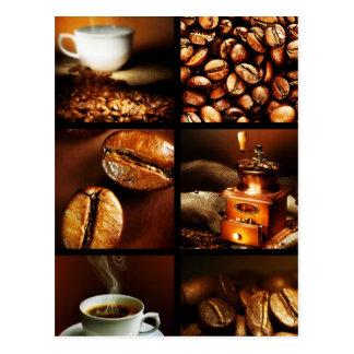 Kaffee-Collage 2 Postkarten