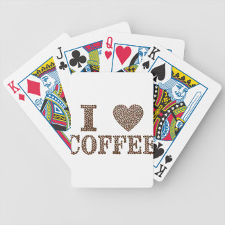 Kaffee der Liebe I, coffeeholic Bicycle Spielkarten