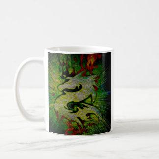 Kaffee-Drache Kaffeetasse