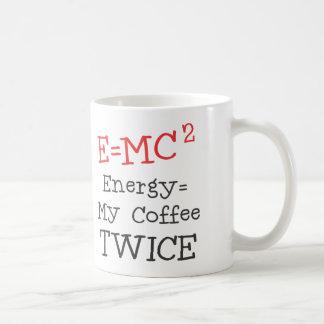 Kaffee E=MC2 Kaffeetasse