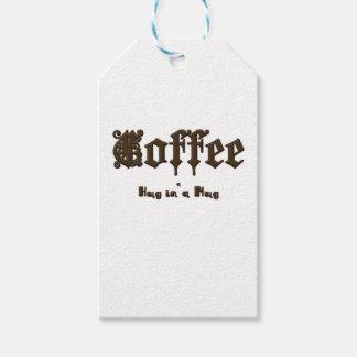 Kaffee - eine Umarmung in einer Tasse    gotisch Geschenkanhänger