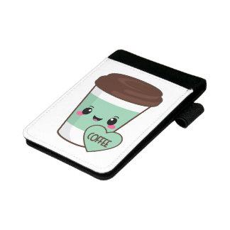 Kaffee Emoji Liebhaber Mini Padfolio