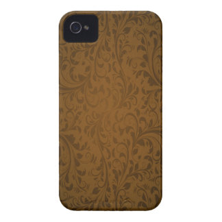 Kaffee-FarbWirbel iPhone 4 Case-Mate Hüllen
