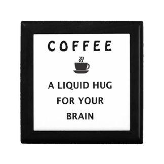 Kaffee-flüssige Umarmung für Ihr Gehirn Geschenkbox