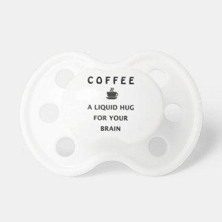 Kaffee-flüssige Umarmung für Ihr Gehirn Schnuller