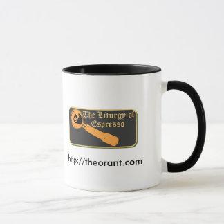 Kaffee für die Heiligen Tasse