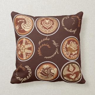 Kaffee-Gesprächs-Kissen Kissen
