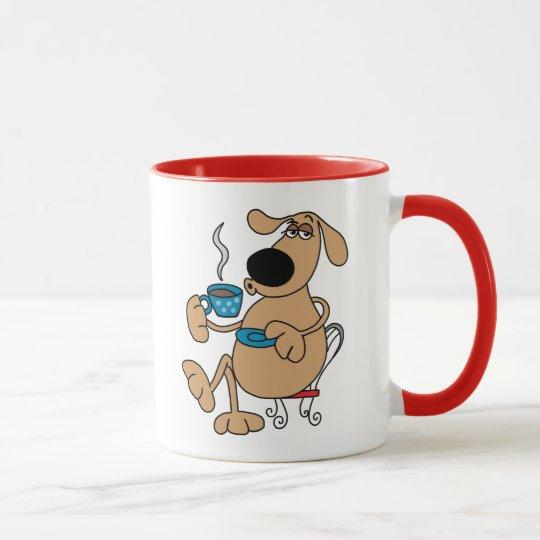 Kaffee-Hund 11-Unze-kombinierte Tasse
