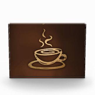 Kaffee in meiner Schale Auszeichnung