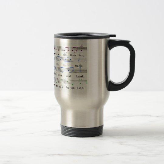 Kaffee-Kanon-Becher Reisebecher