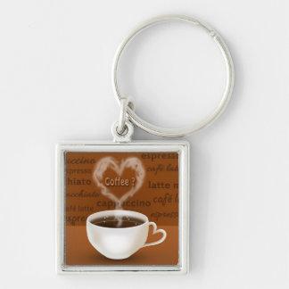 Kaffee? - Keychain Schlüsselanhänger