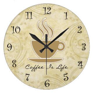 Kaffee-Küchen-Wanduhren