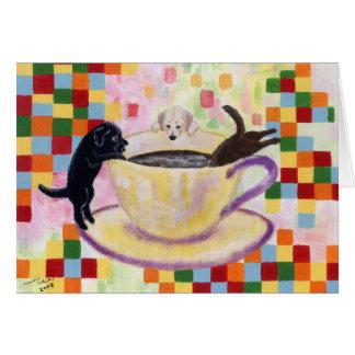Kaffee-Labradore Karte