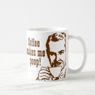 Kaffee lässt mich kacken haferl