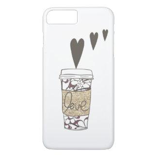 Kaffee-Liebe iPhone 8 Plus/7 Plus Hülle