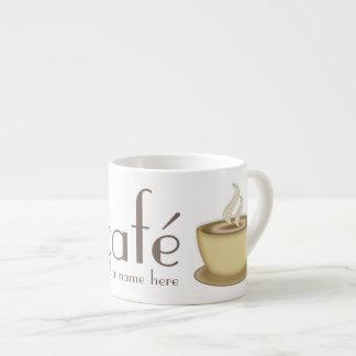 Kaffee-Liebhaber Café personalisierte Espressotasse