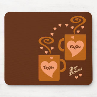 Kaffee-Liebhaber mousepad, fertigen besonders an