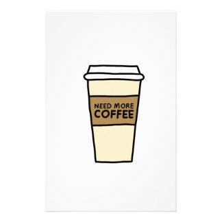 KAFFEE-LIEBHABER-Shirts, Zusätze, Geschenke Briefpapier