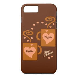 Kaffee-Liebhabertelefon-Hüllen iPhone 8 Plus/7 Plus Hülle