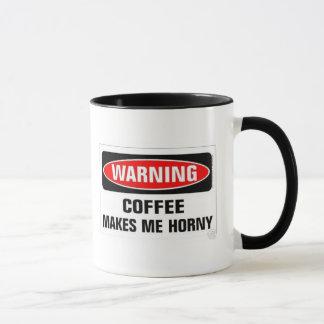 Kaffee macht mich hornig tasse
