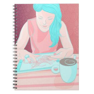 Coffee Girl Notebook