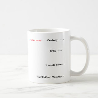 Kaffee-Meter Kaffeetasse
