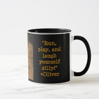 Kaffee mit Oliver trinken Tasse