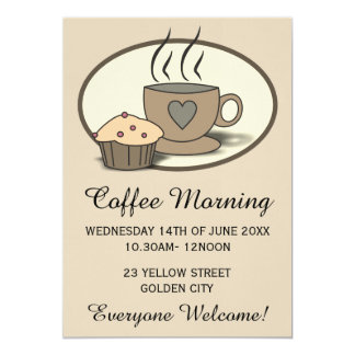 kaffee einladungen   zazzle.de, Einladung