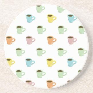 Kaffee-Muster Untersetzer