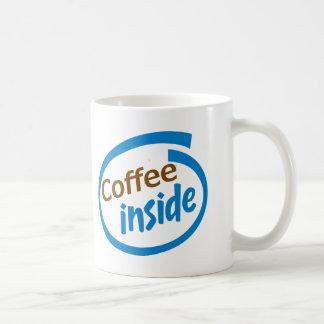 Kaffee nach innen kaffeetasse