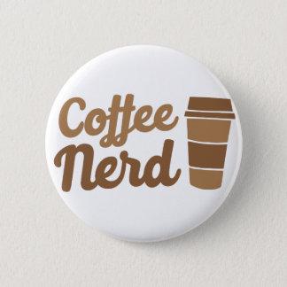 Kaffee-Nerd Runder Button 5,1 Cm