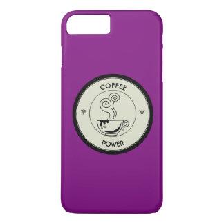 Kaffee-Power iPhone 8 Plus/7 Plus Hülle