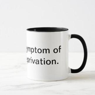 Kaffee-Redewendungen für Kaffeetassen