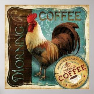 Kaffee-Register Poster