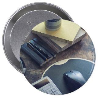 Kaffee Runder Button 10,2 Cm