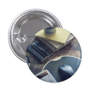 Kaffee Runder Button 2,5 Cm