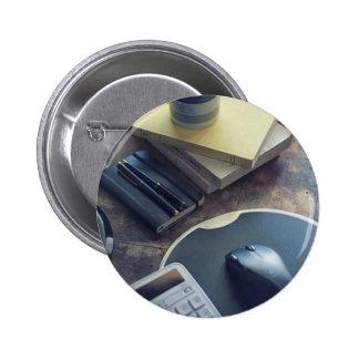 Kaffee Runder Button 5,7 Cm