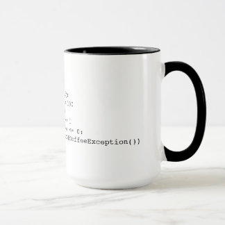Kaffee-Schleife Tasse