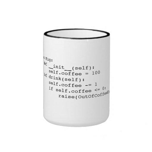Kaffee-Schleife Kaffeetassen