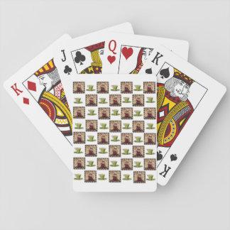 Kaffee-Spielkarte-Plattform Spielkarten