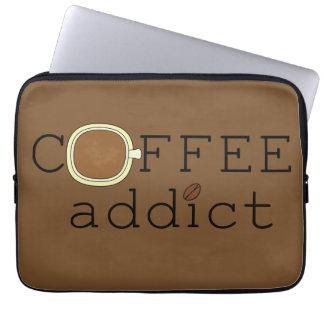 Kaffee-Süchtiger - wählen Sie Farbe Laptop Schutzhülle