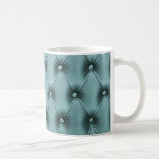 """Kaffee-Tasse """"aquamarines Pastellcapitone """" Kaffeetasse"""