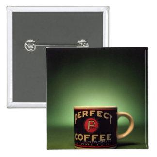 Kaffee-Tasse Button