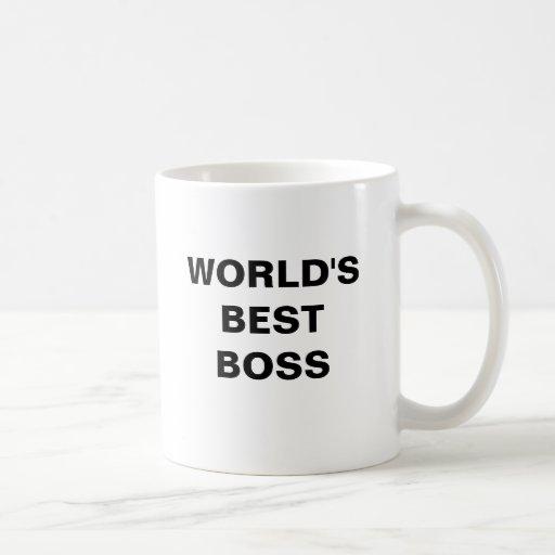 Kaffee-Tasse der CHEF der WELT BESTE