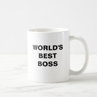Kaffee-Tasse der CHEF der WELT BESTE Tasse