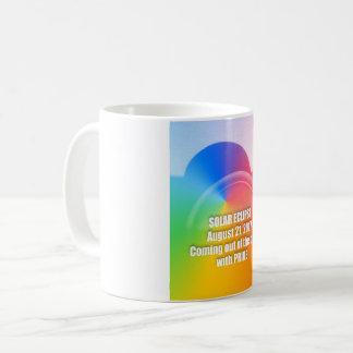 Kaffee-Tasse der Gay Pride-Solareklipse 8-21-17 Kaffeetasse